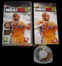 NBA 2K10 Psp Versione Ufficiale Italiana 1ª Edizione •••• COMPLETO