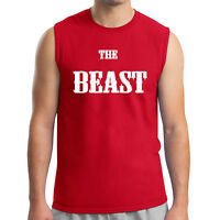Beast Gym Swole Men's Sleeveless Body Building Workout Muscle Tee - 1647C