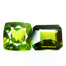 1.45ct 100% Natural earth mined green multi color sphene/titanite from russia