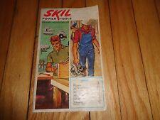Skil Power Tool Catalog Drills Saws Grinders Sanders