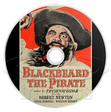 Blackbeard, the Pirate (1952) Robert Newton Adventure Movie / Film on DVD