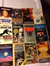 12 PB SCI FI Lot MOVIE Michael Crichton ANDROMEDA STRAIN GIVER STAR WARS STARMAN