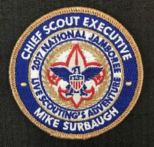 """2017 National Jamboree Chief Scout Executive Mike Surbaugh 3.0"""" Boy Scouts BSA"""
