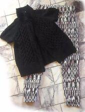 ♛   ESPRIT  ♛ hübsche Strickjacke mit Wolle  + H&M Leggins   ♛  Gr. M  ♛