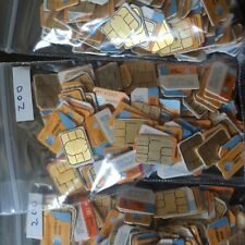 Lot of 200 AT&T Nano Sim Card fit for all phones using nano sim card