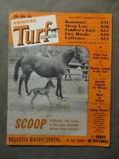 American Turf Monthly Magazine August 1954