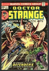 Doctor Strange #2 - Avengers - Nick Fury - Spider-Man - Marvel (1974) VG/FN