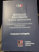 MANUALE RAGIONATO DI DIRITTO AMMINISTRATIVO II EDIZIONE DIKE. 2020