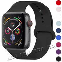 fr Apple Watch iWatch Series 3 4 5 38/40/42/44mm Sport Strap watch Band silicone