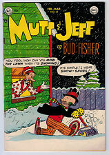 MUTT AND JEFF #62 5.5 OW/WHITE PAGES GOLDEN AGE