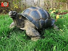 More details for xxl giant tortoise huge size. incredible home or garden ornament, vivid arts