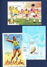 BRAZIL - after Sc 1874 -  FIVE VF MNH S/S - Olympics, Soccer, F1 race, balloon