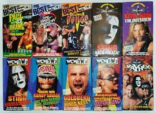 WCW nWo VHS Lot Superstar Series Macho Man Randy Savage Sting Best Of Fall Brawl