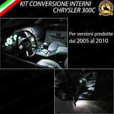 KIT FULL LED INTERNI CHRYSLER 300C CONVERSIONE COMPLETA CANBUS NO ERROR 6000K