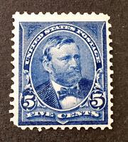 Scott US # 281 - 1898-99 Grant, 5 Cents; Mint Never Hinged; OG; CV=$100