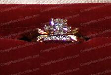 Vintage (14K) Gold & Diamond Wedding Set (Includes Appraisal)