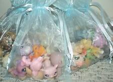 Grab Bag Littlest Pet Shop 8 PC Pets In Light Blue Gift Bag Great Gift