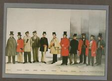 Uniforms of the London Postal Service.   postcard  z.41