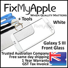 Samsung Galaxy S III S3 i9300 i9305 White Front Glass Screen Lens Replacement 3G
