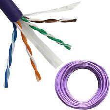 25M CAT6 Network/Ethernet Copper Cable - Low Smoke LSZH LSOH LS0H - Reel/Drum