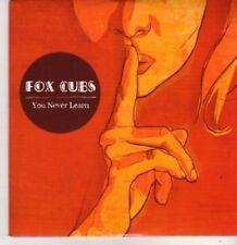 (BP925) Fox Cubs, You Never Learn - DJ CD