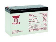 Batterie yuasa NP7-12 12V 7ah  151x65x97.5mm plomb etanche