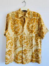 Bodhi by Kotomori Linen Shirt Mens LARGE