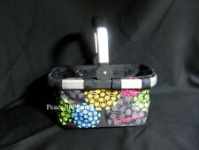 Tupperware NEW Black Consultant RARE Logo SMALL Shopping Basket Supply Carrier
