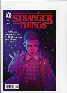Stranger Things  # 4 Variant N mint 1st Series Dark Horse 1st print 2018