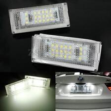 Error Free LED License Plate Light For BMW E46 4D 5D Sedan 325i 328i 323i 325xi