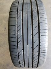 255/40R19 - 1 used tyre CONTINENTAL ContiSportContact 5 SSR : $50.00