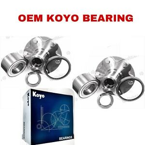 FRONT WHEEL HUB & KOYO BEARING & SEAL FOR 2001-2006 TOYOTA TUNDRA 2WD ONLY PAIR