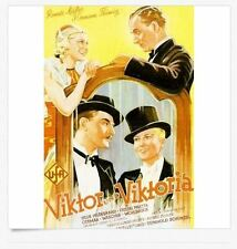 VIKTOR UND VIKTORIA (1933) * with switchable English subtitles *