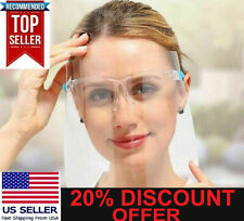 Face Shield Mask with Eye Glasses Clear Guard Protection for Eye Glass 2 3 4 5