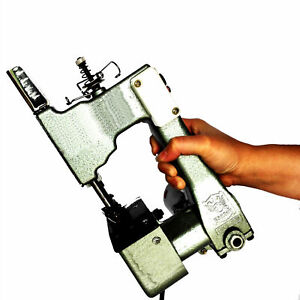 Pro Handheld Electric Stitching Machine For Bag Sewing Sealing Right Handed Use