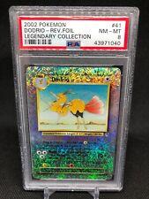 PSA 8 Dodrio Legendary Collection Pokemon Card Reverse Holo 41/110 WOTC 2002
