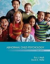 Abnormal Child Psychology 6E by Eric J. Mash, David Wolfe (Hardback, 2015)