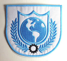 """Buck Rogers TV Series Shoulder Logo  4.5"""" Embroidered Patch- FREE S&H (BUPA-28)"""