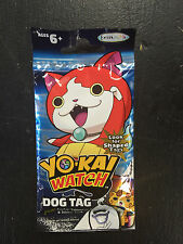 YO-KAI WATCH DOG TAG LOT OF (6) SEALED NEW PACKS
