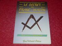 [FRANC MACONNERIE BD]  YANNICK MAHE & DANIEL LAURENT SECRET DU FRANC MACON 1988
