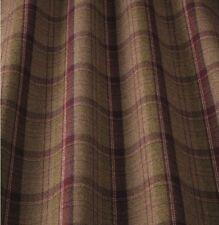 iliv Lana Art Deco Tartan Berry/heather Curtain Fabric Lounge/Dining Room etc