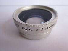 Camex 0.5X Digital Wide Angle Auxiliary Lens w Macro 52mm Screw mt Nikon Canon