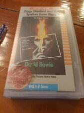 RARE ORIGINAL Ziggy Stardust and the Spiders from Mars: The Motion Picture (VHS)