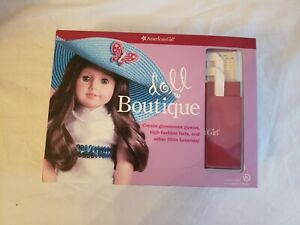 American Girl Doll Activity Kit - doll Boutique New opened - Create Glamor Gowns