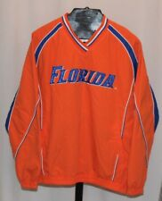 NWT 58 SPORTS Florida Gators Orange Pull Over Windbreaker Men's Sz M Ships FREE
