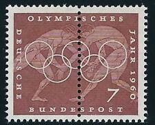 BRD - Olympische Sommerspiele Rom Verzähnung postfrisch 1960 Mi. 332
