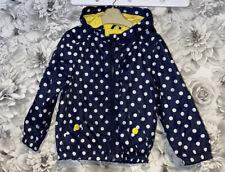 Girls Age 4-5 Years - Next Lightweight Waterproof Coat