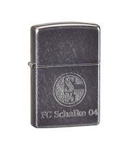 Zippo 27.1325 Dusk FC Schalke 04, grau