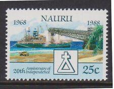 (K202-82) 1988 Nauru 25c 20th anniversary of independence (De)