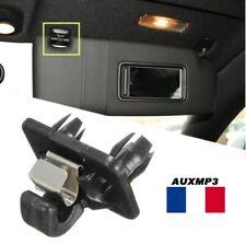 Clip pare soleil noir Audi A1 A3 S3 A4 S4 A5 S5 Q3 Q5 TT clip audi de france